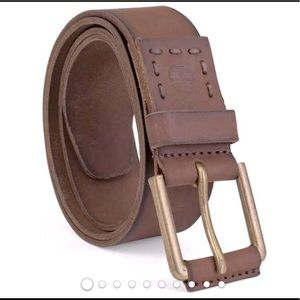 Timberland Leather Belt Brown Size 36